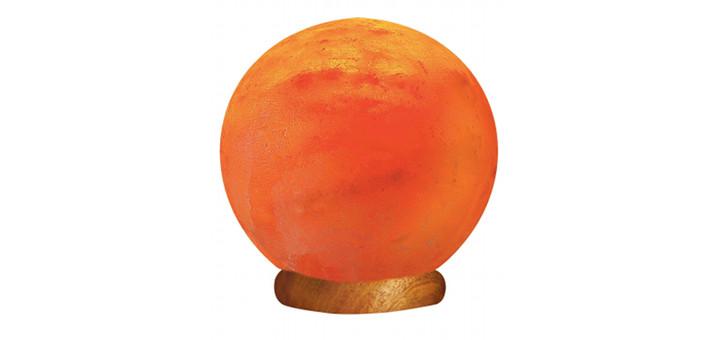 Classic Round Himalayan Salt Crystal Lamp - Just Air Purifiers