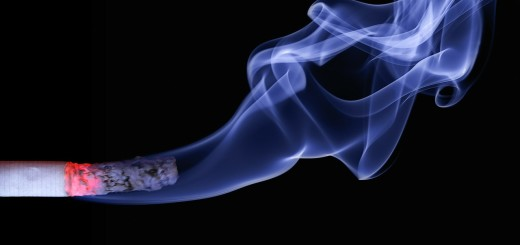 A Smoking Cigarette