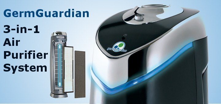 germ guardian 3 in 1 air purifier